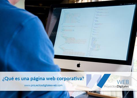 ¿Qué es una página web corporativa?