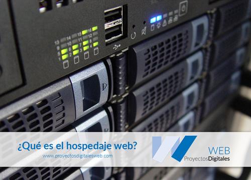 ¿Qué es el hospedaje web?
