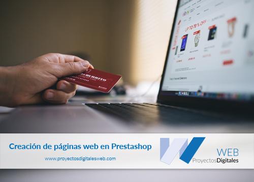 Creación de páginas web en Prestashop