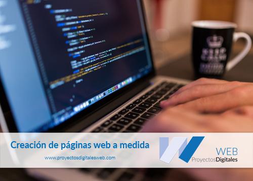 Creación de páginas web con programación a medida