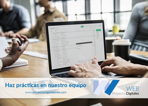 Prácticas de Desarrollo de aplicaciones web (DAW) en Valencia